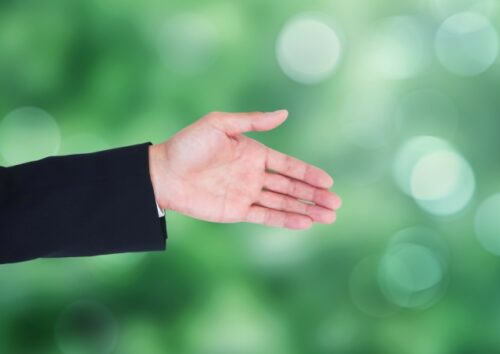 夢占い 握手